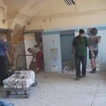 Hajnal Zénó terem építése